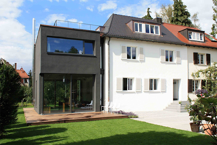 Haus L125 Moderne Häuser von Holzerarchitekten Modern