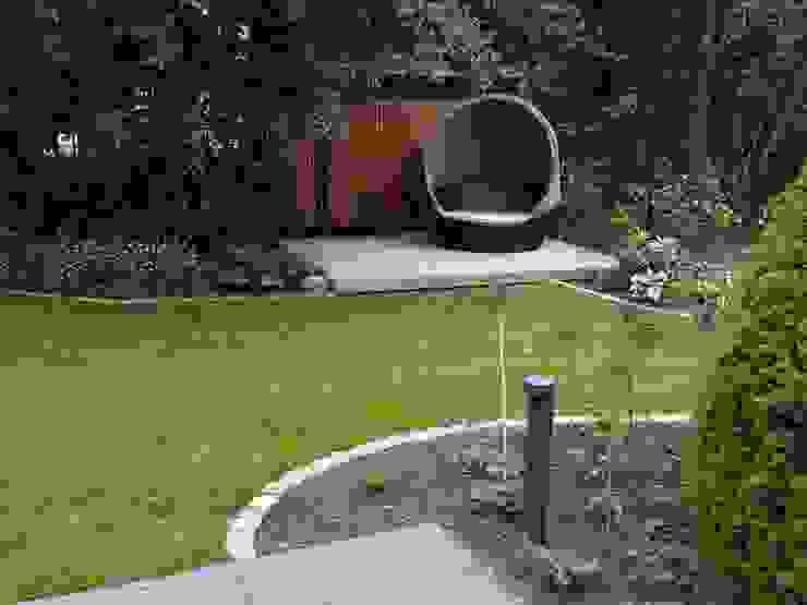 من Irene Alberts Landschaftsarchitektin حداثي خشب Wood effect