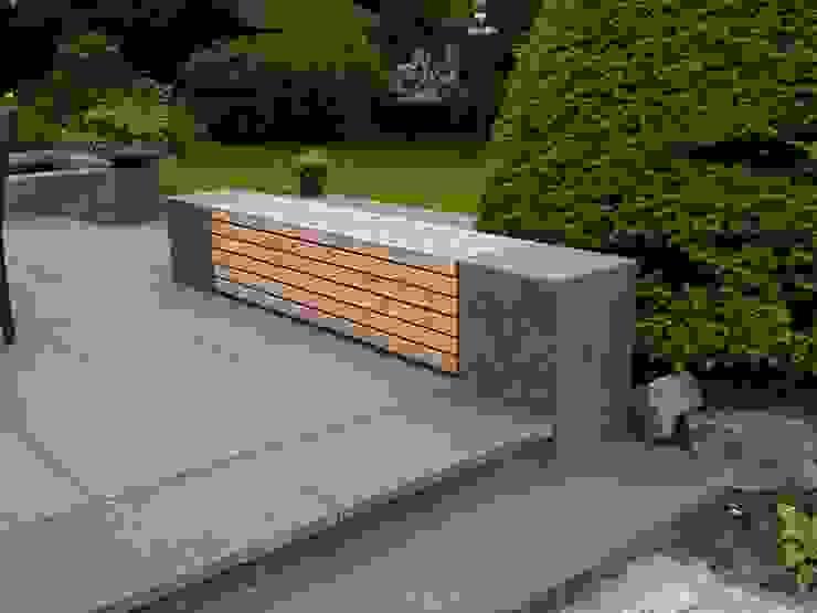 Jardines de estilo moderno de Irene Alberts Landschaftsarchitektin Moderno Madera Acabado en madera