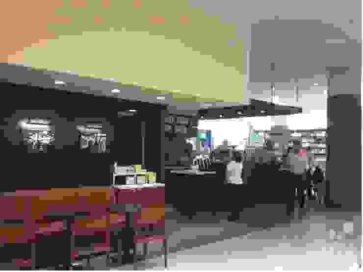Starbucks – Jundiaí Shopping | SP Espaços gastronômicos modernos por KN Arquitetura Moderno