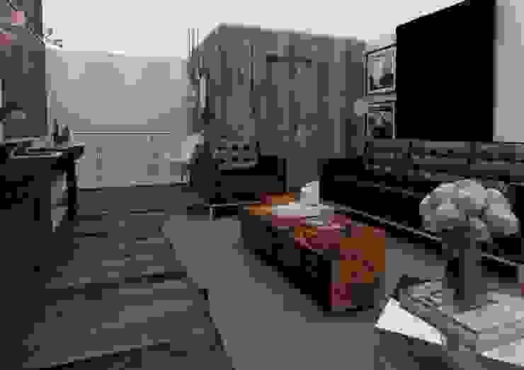 ทางเดินสไตล์สแกนดิเนเวียห้องโถงและบันได โดย Taller 03 สแกนดิเนเวียน ไม้ Wood effect
