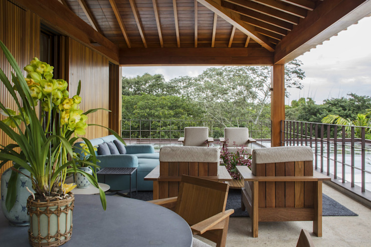 Dormitorios de estilo rural de Denise Barretto Arquitetura Rural