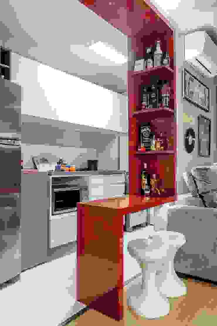 モダンな キッチン の Ambientta Arquitetura モダン