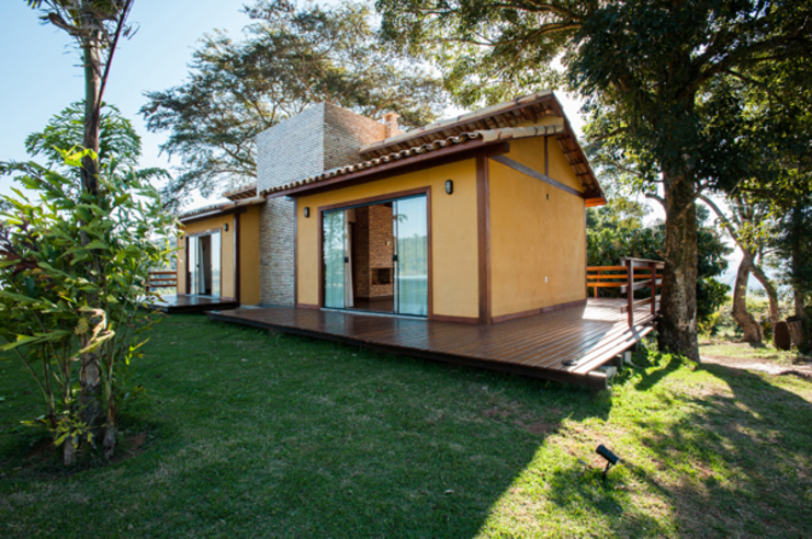 Country style houses by L2 Arquitetura Country