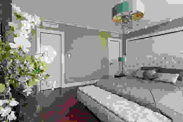 Квартира на Кемской улице в Санкт-Петербурге Студия дизайна интерьера 'Юдин и Новиков' Moderne Schlafzimmer
