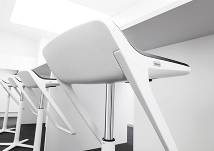 Kinetic - Interstuhl de Riviera Moderno Aluminio/Cinc