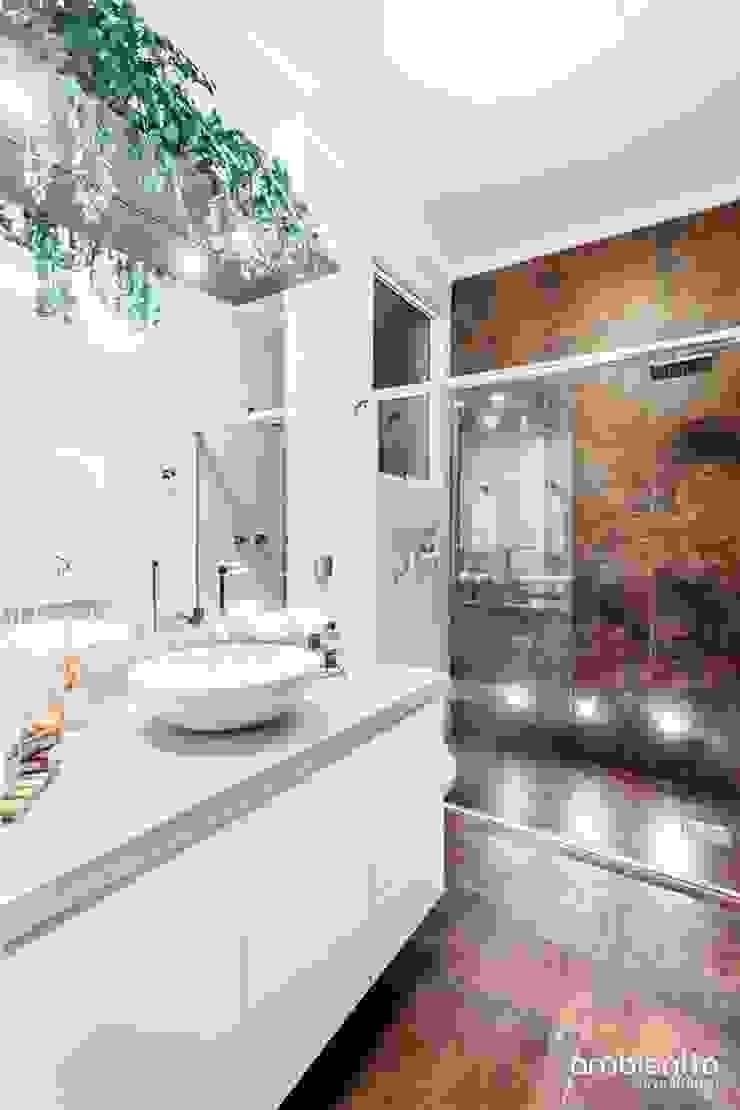 BANHO GJ – SÃO GERALDO / PORTO ALEGRE Banheiros modernos por Ambientta Arquitetura Moderno