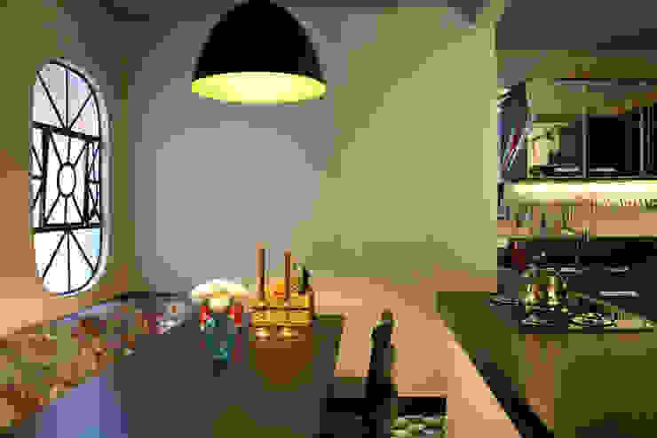 Oleari Arquitetura e Interiores 餐廳照明