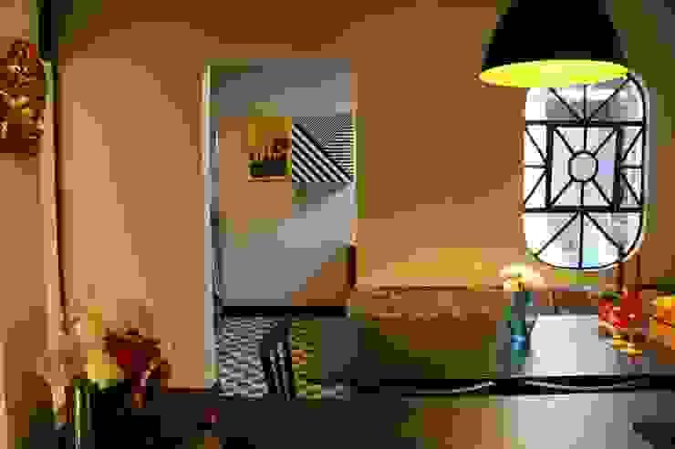 Oleari Arquitetura e Interiores 廚房桌椅