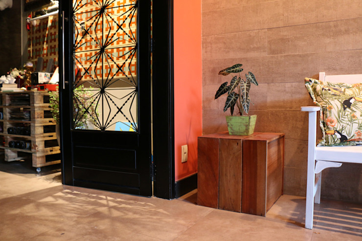 Oleari Arquitetura e Interiores 陽台、門廊與露臺 配件與裝飾品
