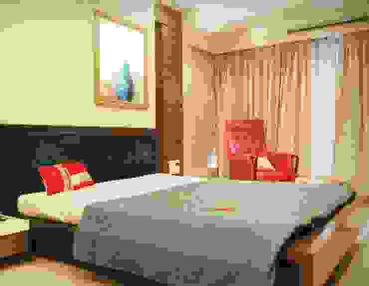 Sanghvi Residence Modern style bedroom by SwitchOver Studio Modern