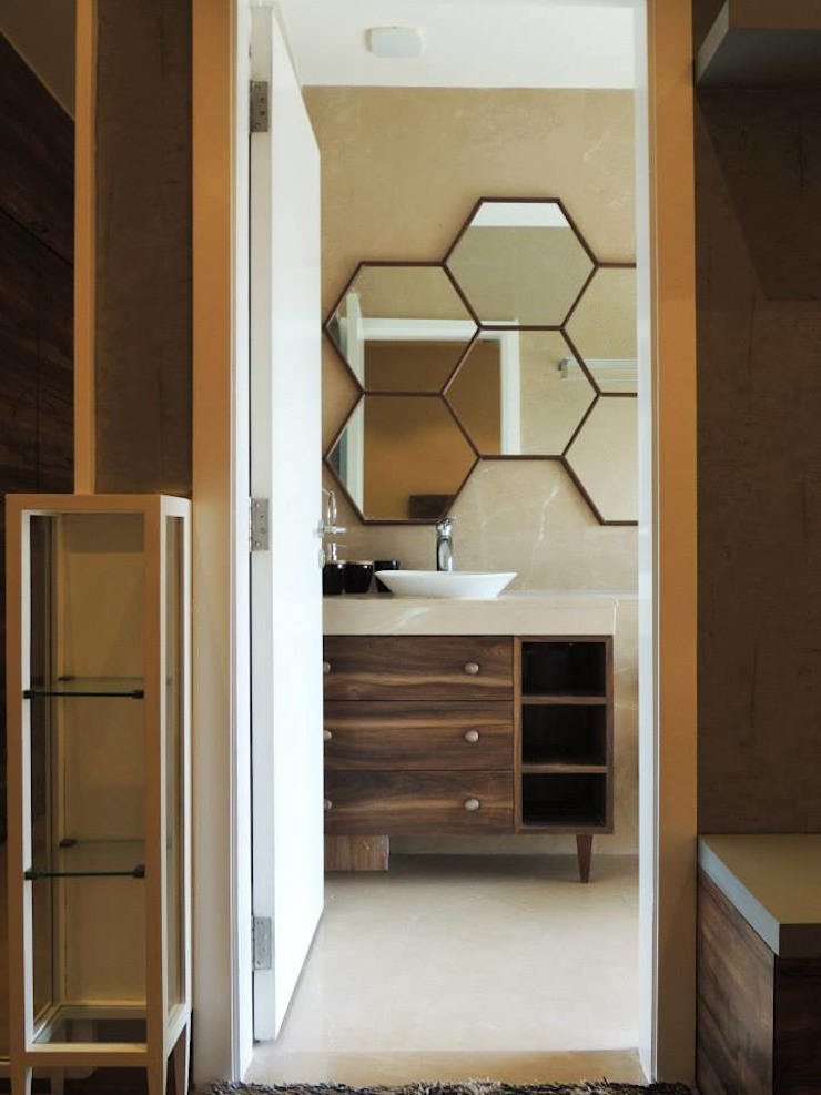 3bhk at Jogeshwari Modern style bedroom by SwitchOver Studio Modern