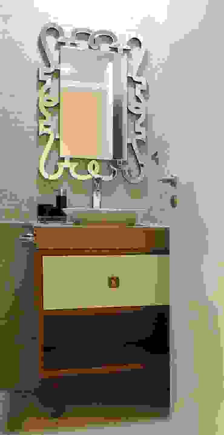 3bhk at Jogeshwari Modern bathroom by SwitchOver Studio Modern