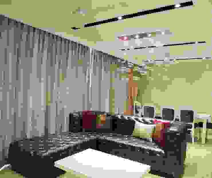 3bhk at Jogeshwari Modern living room by SwitchOver Studio Modern