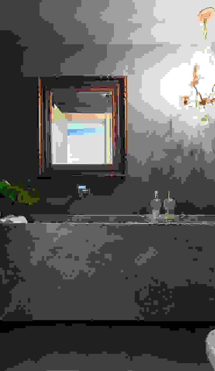 APARTAMENTO ABC Banheiros minimalistas por AMBIDESTRO Minimalista