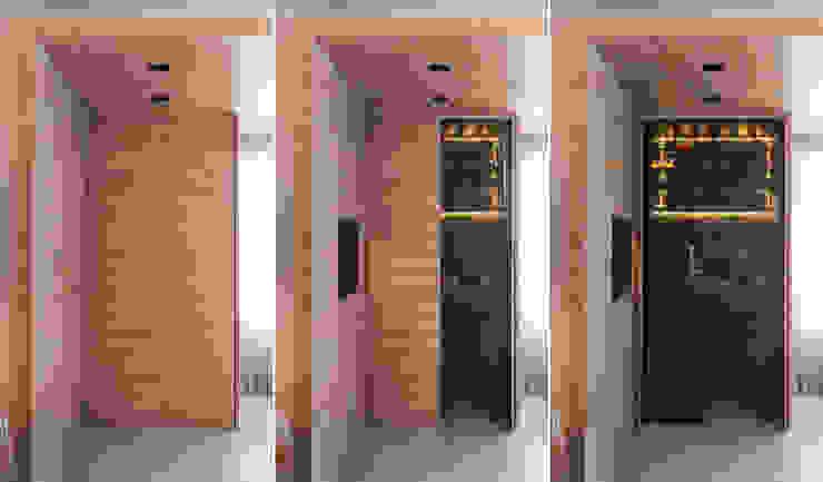 APARTAMENTO ABC Salas de jantar minimalistas por AMBIDESTRO Minimalista