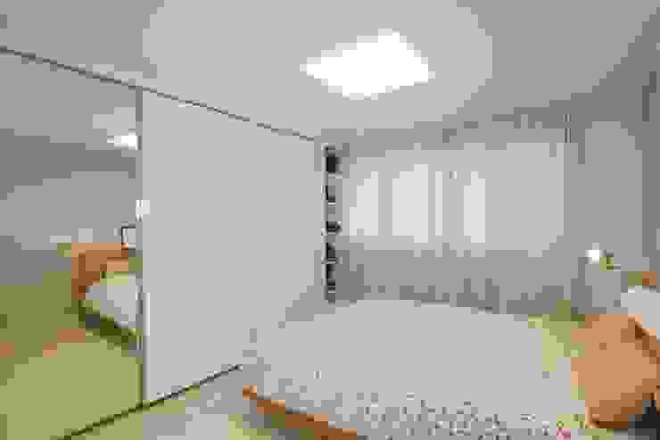 북유럽느낌 물씬 20평 빌라 인테리어 스칸디나비아 침실 by 홍예디자인 북유럽