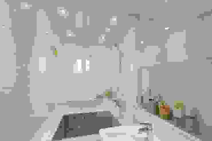 북유럽느낌 물씬 20평 빌라 인테리어 스칸디나비아 욕실 by 홍예디자인 북유럽