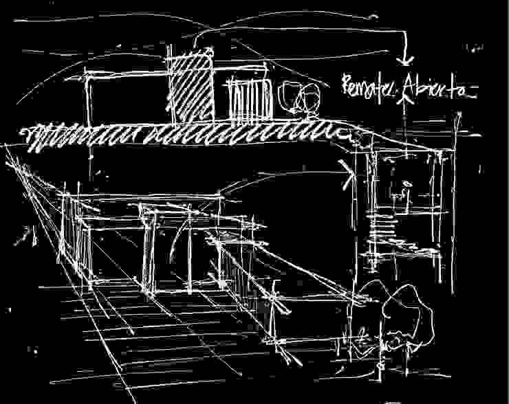 Concepto, boceto del proyecto de ESTUDIO URBANO A+U