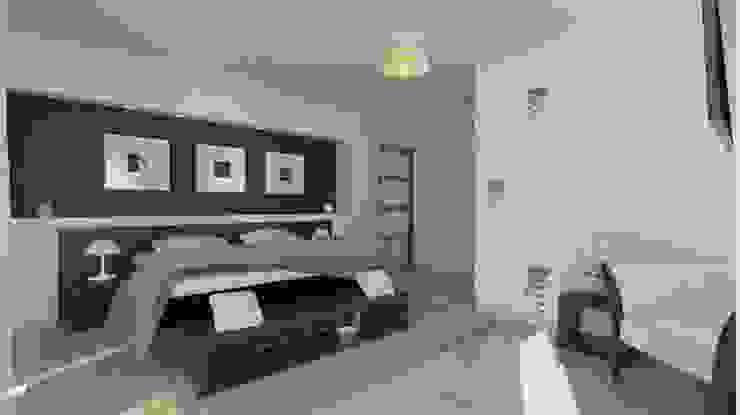 Recamara Principal Dormitorios modernos de IDEA Studio Arquitectura Moderno