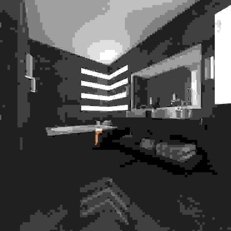 Baño Principal: Baños de estilo  por JRK Diseño - Studio Arquitectura, Moderno