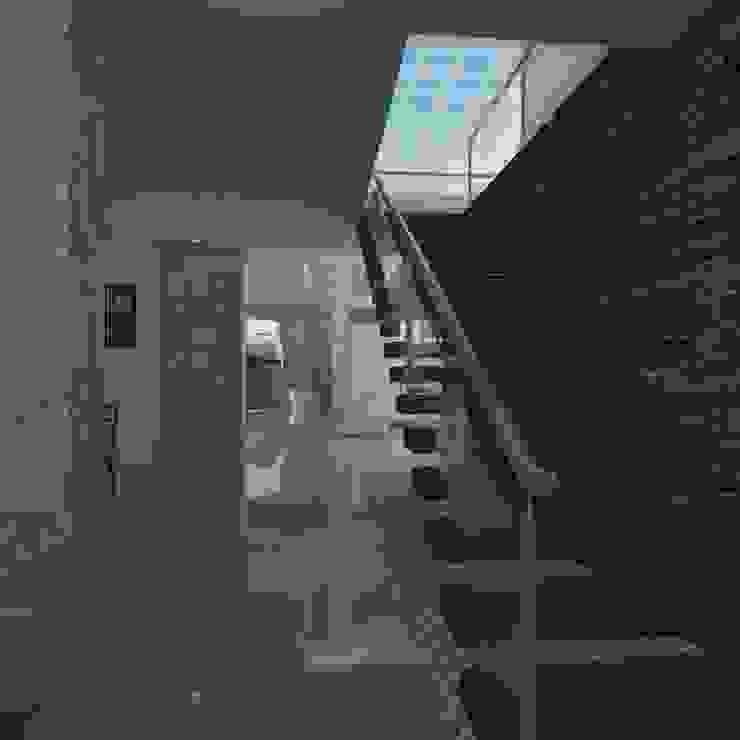 Escalera Principal Pasillos, vestíbulos y escaleras modernos de IDEA Studio Arquitectura Moderno