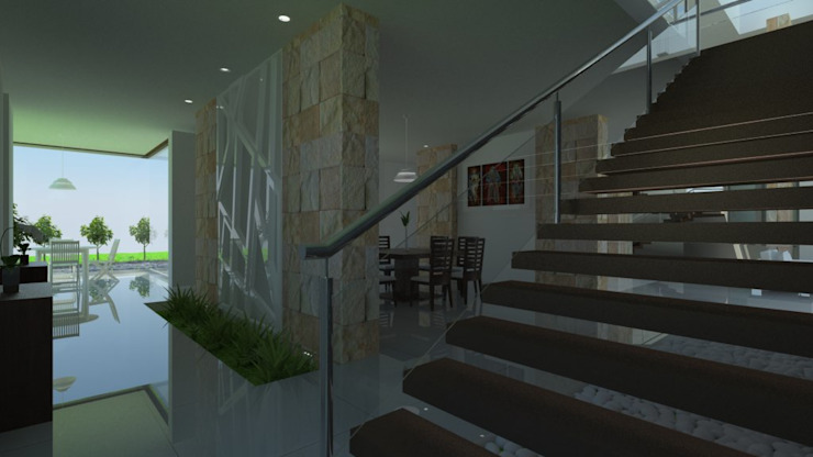 Vista de Comedor Comedores modernos de IDEA Studio Arquitectura Moderno
