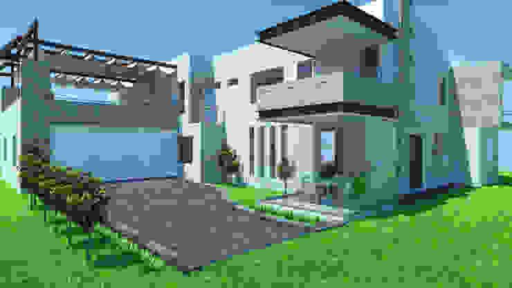 Fachada Principal Casas modernas de IDEA Studio Arquitectura Moderno