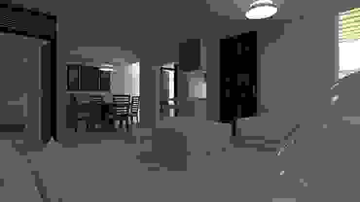 Vista de Sala, Comedor y Cocina Salones modernos de IDEA Studio Arquitectura Moderno