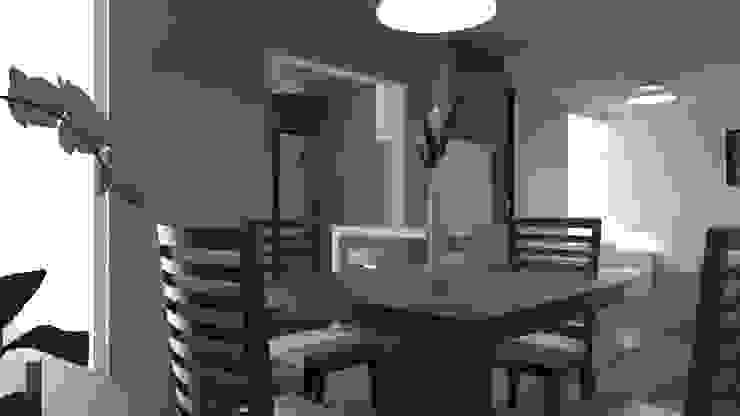 Comedor Comedores modernos de IDEA Studio Arquitectura Moderno