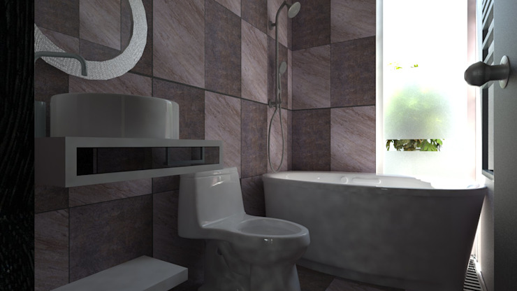 Modern bathroom by JRK Diseño - Studio Arquitectura Modern