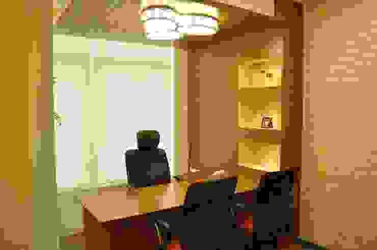 IFSS Office @Sayaji Path,Baroda Modern offices & stores by SkyGreen Interior Modern