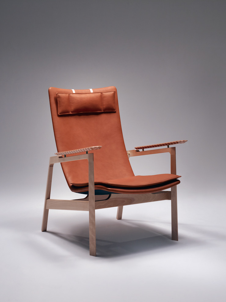 Becarre Lounge Chair: MOCTAVEが手掛けた現代のです。,モダン