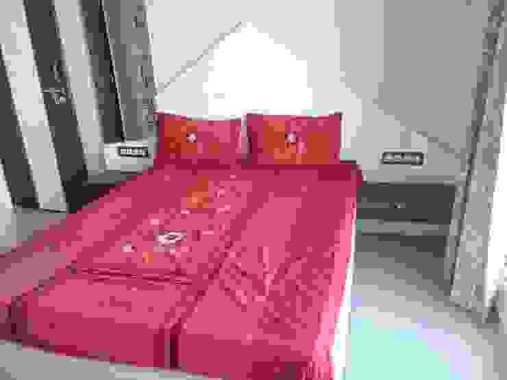 2BHK—Interior Flat @Ahmedabad Modern style bedroom by SkyGreen Interior Modern