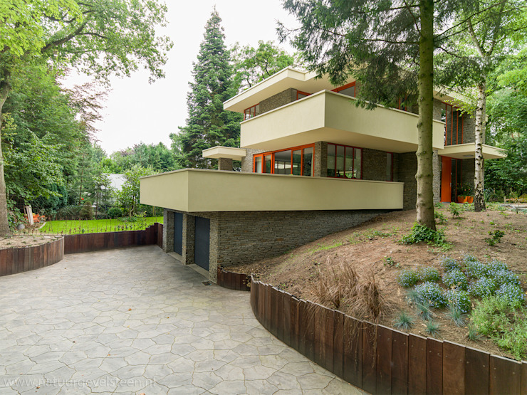 STROOM architecten 現代房屋設計點子、靈感 & 圖片