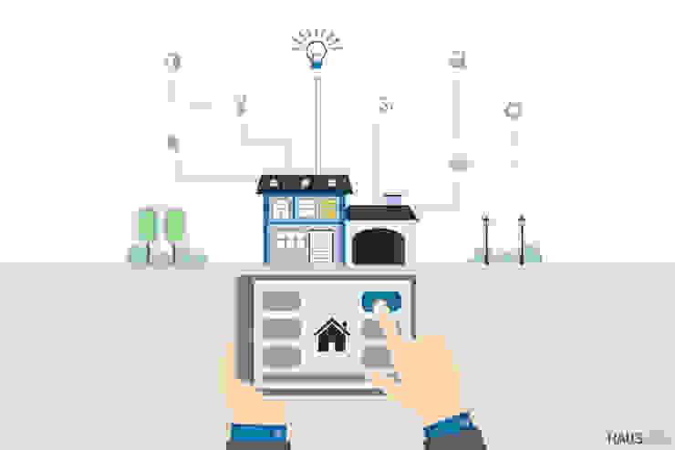 Smart Home, Smart Living Moderne Wohnzimmer von Hagen Petters - Freier Autor und Journalist Modern