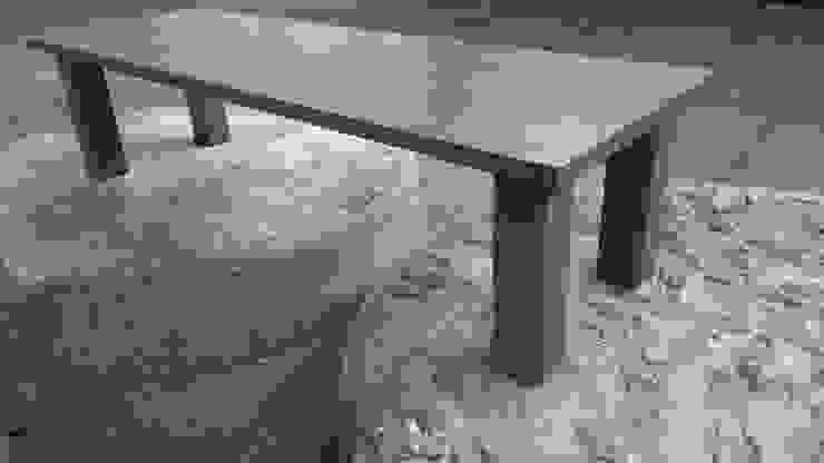 Oude plafondbalken worden 'nieuwe' tafel van Ab Houtcreaties Industrieel Hout Hout