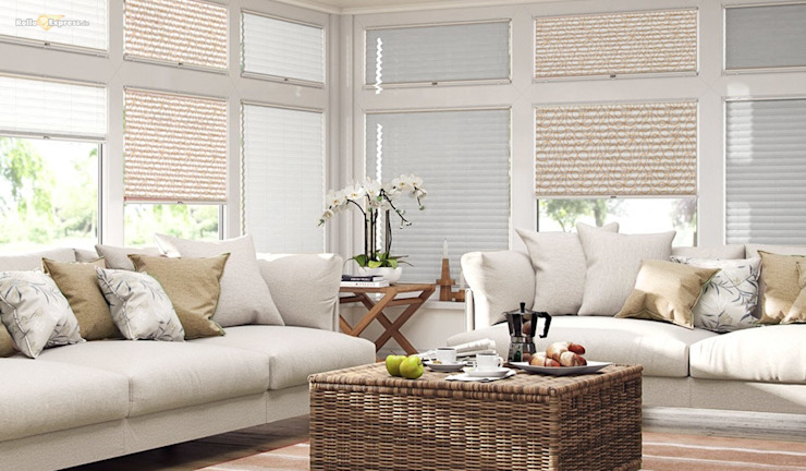 RolloExpress.de Windows & doors Blinds & shutters Textile White