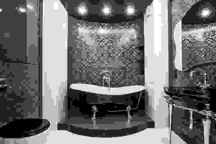 Klasyczna łazienka od homify Klasyczny Płytki