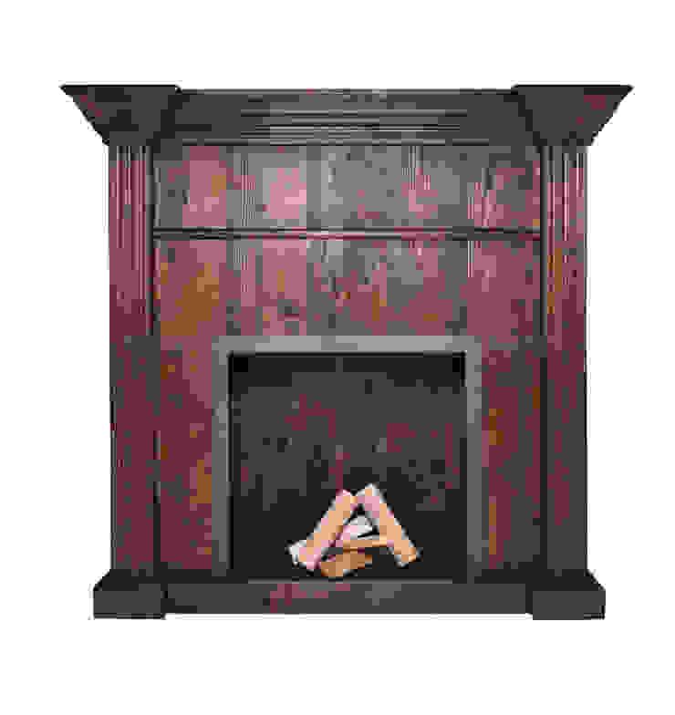 Портал для камина V619 от LeHome Interiors Лофт Дерево Эффект древесины