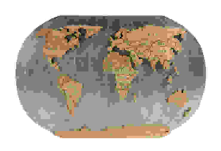 Карта Мира V742 от LeHome Interiors Лофт