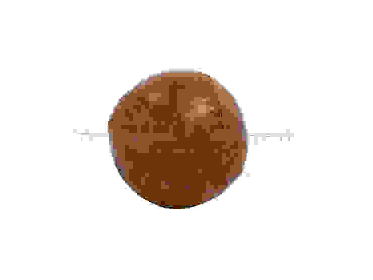 Бейсбольный мяч V751 от LeHome Interiors Лофт Кожа Серый