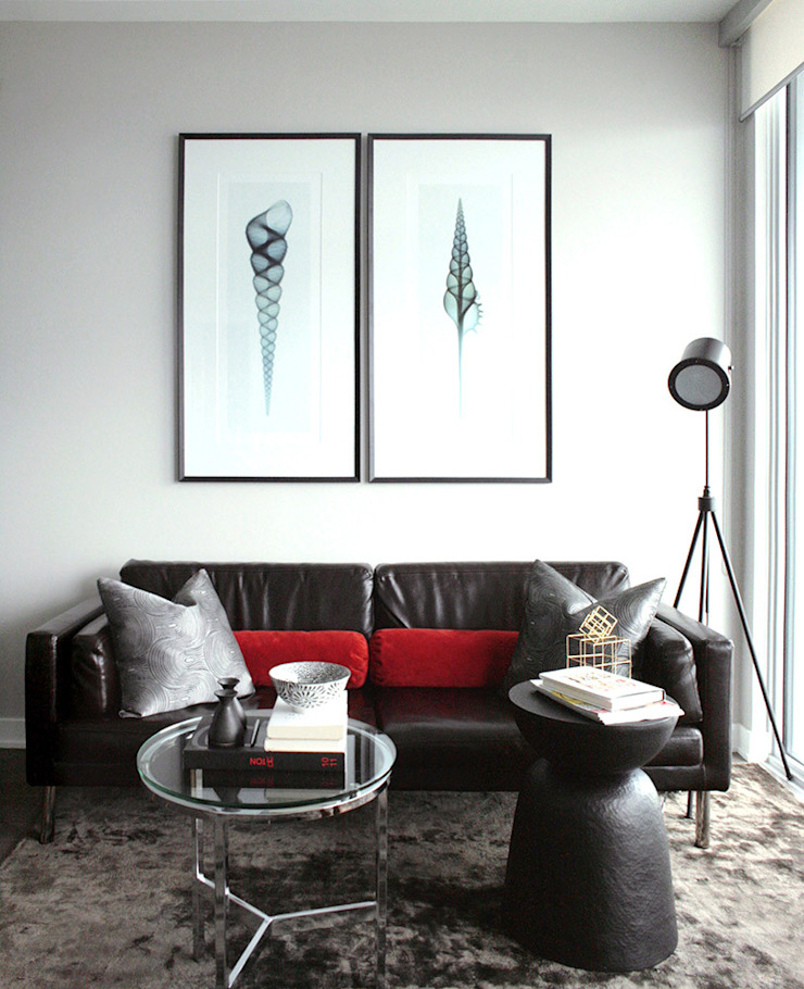 Appaprtement, 2013 Salon moderne par ANNA DUVAL Moderne