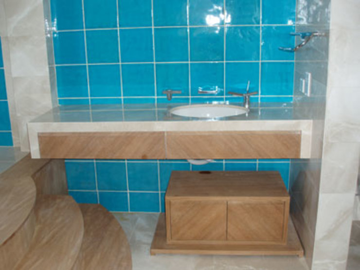 Modern bathroom by STİLART MOBİLYA DEKORASYON İMALAT.İNŞAAT TAAH. SAN.VE TİC.LTD.ŞTİ. Modern