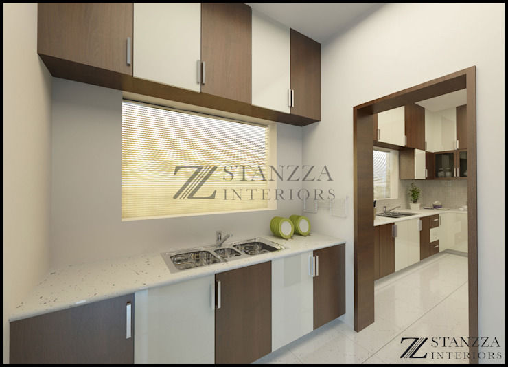 Nizar, Manilala Modern kitchen by stanzza Modern