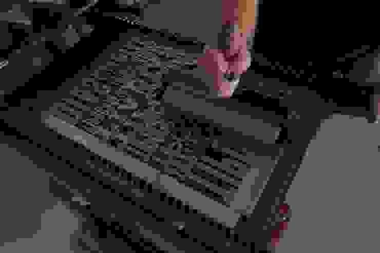 Tintagem da impressão de fundo:  industrial por Tipografia Dias,Industrial