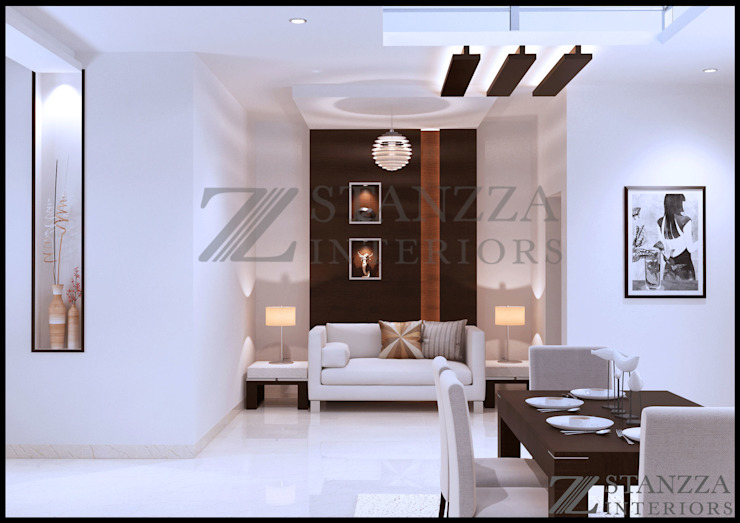 Modern living room by stanzza Modern