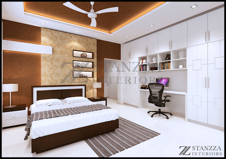 Haris Modern style bedroom by stanzza Modern