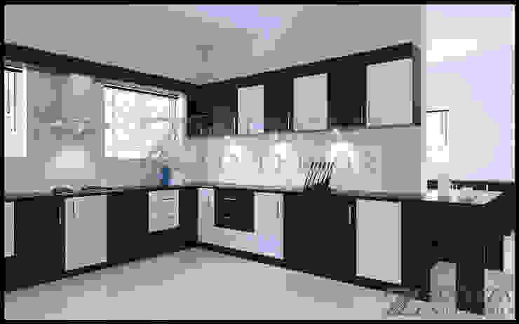 Haris Modern kitchen by stanzza Modern