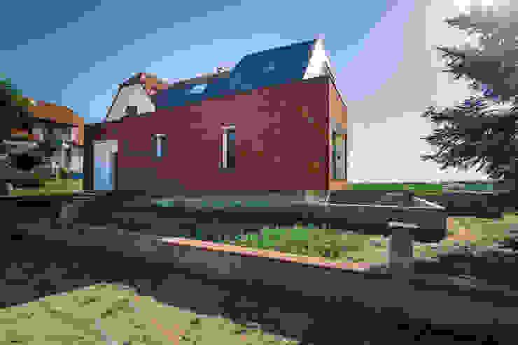 Façade rue Maisons modernes par [ADitude*] Architecture Moderne
